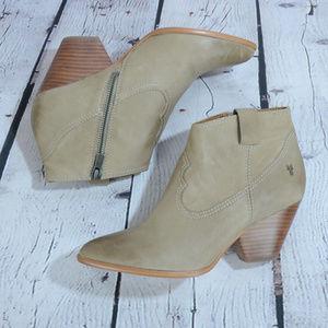 NEW! FRYE Reina Leather Bootie